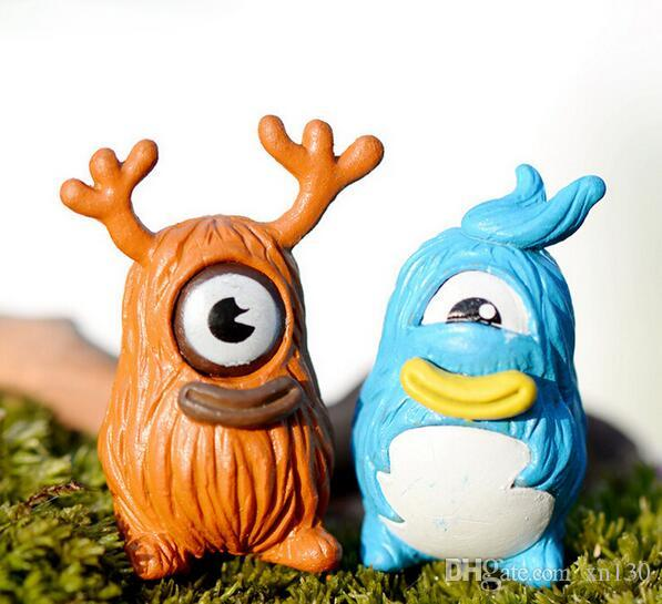 Tree Monster Figurine decoration fairy garden Moss Ornament miniature Movie Cartoon Animal Status resin craft Decor Gift