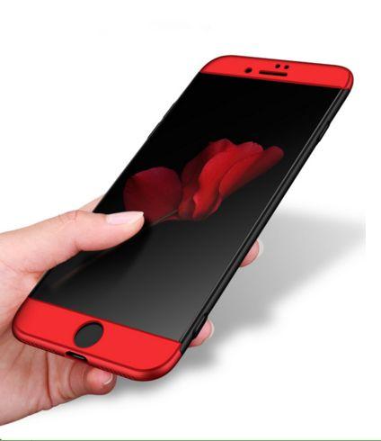 Для Apple Iphone 8 Plus Case 360 всего тела Жесткий матовый задняя крышка Чехол для Iphone 8P Защитная сумка Shell без утечки Lable