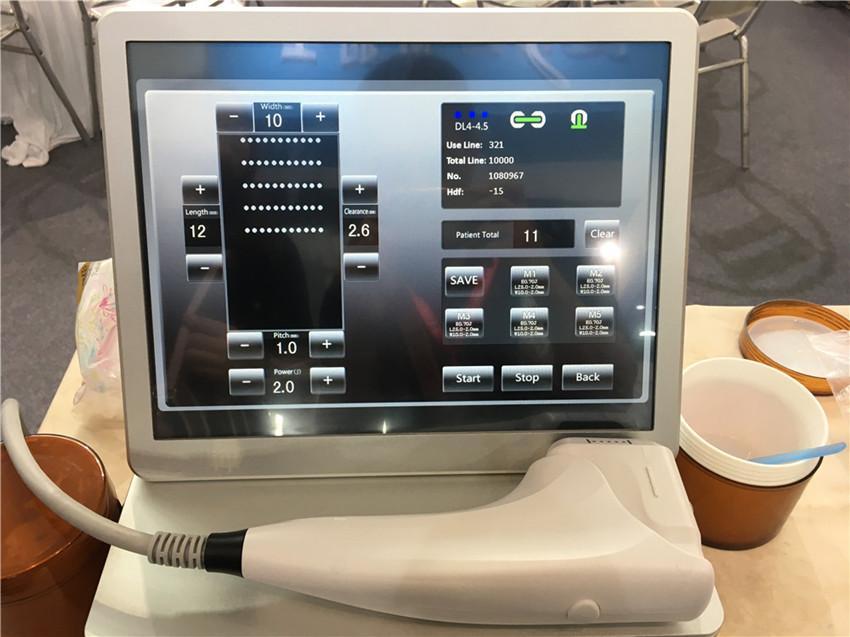 Cuidado de la piel de la cara máquina de eliminación de arrugas 3D HIFU Máquina portátil 3D Nueva HIFU uso en el hogar contra el envejecimiento