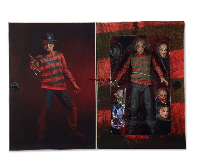 """NECA Un cauchemar sur la rue Elm Freddy Krueger 30ème figurine d'action en PVC à collectionner 7 """"18CM"""