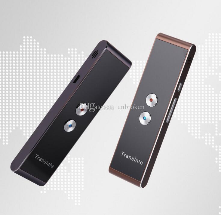 T8 Intelligentes Sprach-Bluetooth-Übersetzungsgerät für Sofortübersetzer