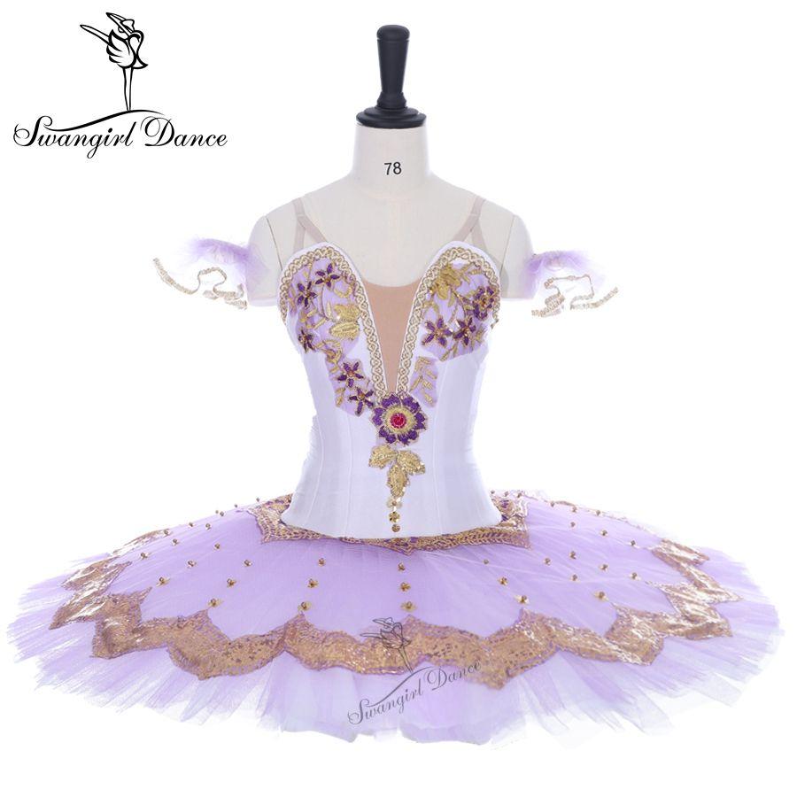 Erwachsene lila professionelle Ballett Tutu Nussknacker Tutus Sugar Plum Fee klassischen Pfannkuchen Performance Tutu Ballett Bühne Kostüm BT9138
