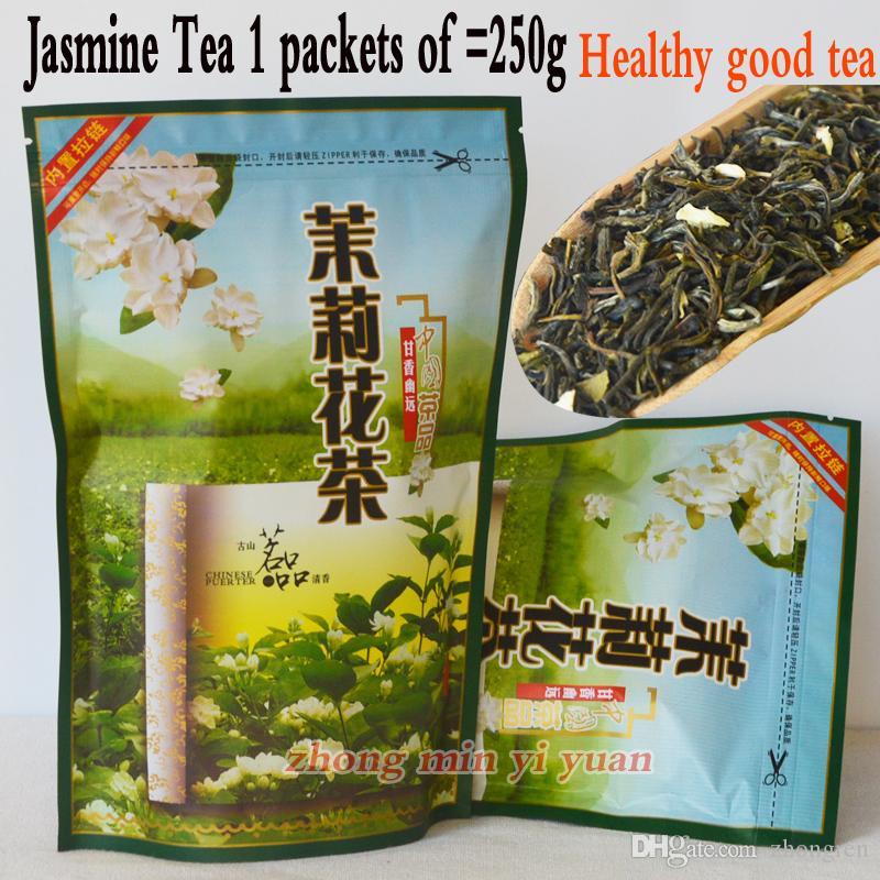 Thé au jasmin par thé Hengxian Luzhou Expédition specialfree 250 g + sac cadeau + Livraison gratuite en gros spécial