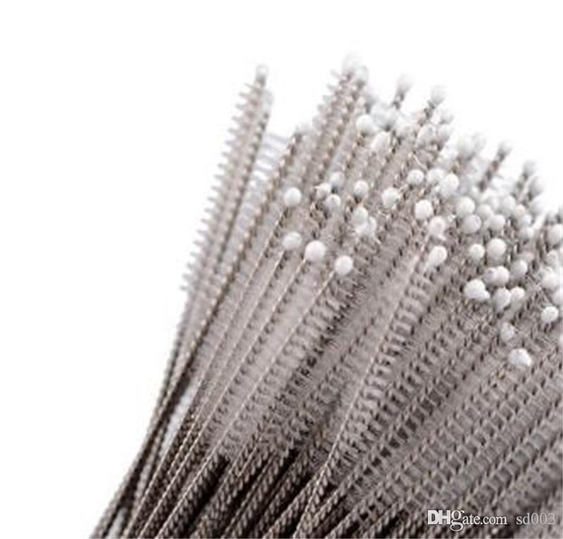 Spazzola di aspirazione in acciaio inox Accessori per la cucina Biberon a prova di umidità Tromba a paglia Scrub Strumenti per bar di casa non tossici 0 29xq dd