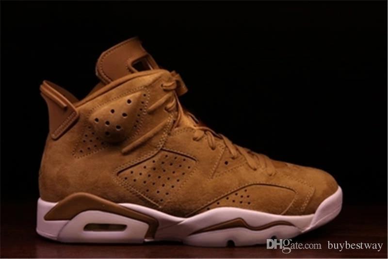 Großhandel 6 Goldene Ernte Weizen Männer Basketball Schuhe 6 S Herren Sportschuhe Turnschuhe Leichtathletik Schuhe XZ35 Von Buybestway, $50.77 Auf