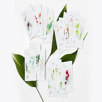한국 브랜드 이니스프리 내 진짜 짜는 마스크 페이셜 마스크 시트 무료 배송