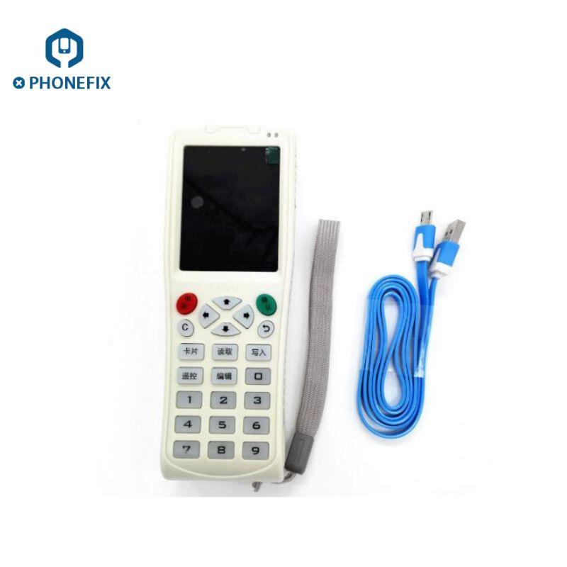 FIXPHONE Multi-function Machine iCopy 3 Full Decode Function Smart Card Key Machine RFID NFC Copier IC/ID Reader/Writer Duplicator