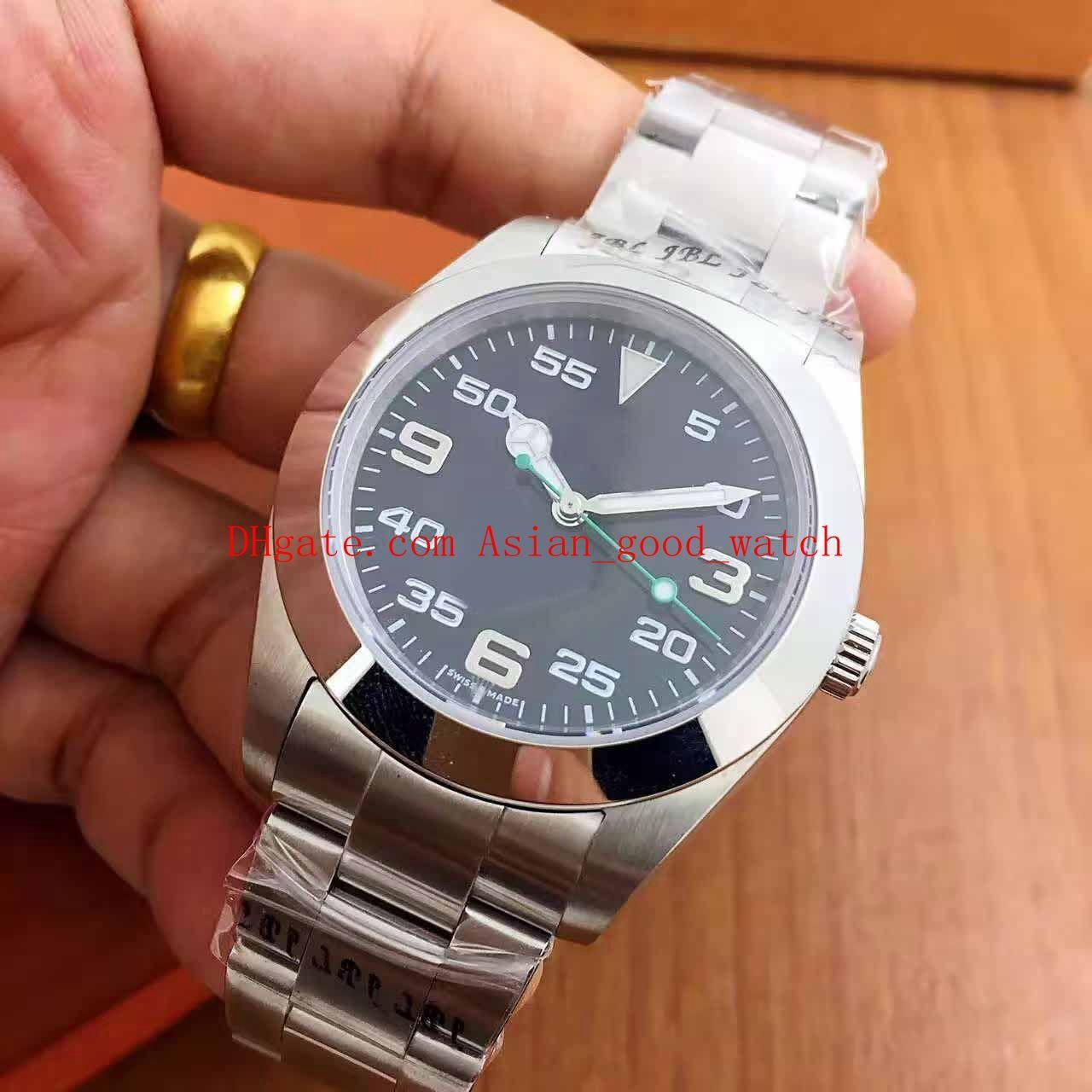 Envío gratis Serie Classic Hombres Reloj High High 40mm 116900 Asia 2813 Fecha de movimiento Pulsera de acero inoxidable Relojes de relojes para hombre