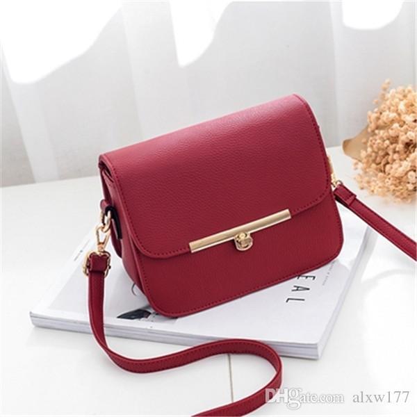 2018 klassische Mode berühmte Marke Frauen casual Tote Bag PU Handtaschen Schulter Tote Taschen Geldbörse 22