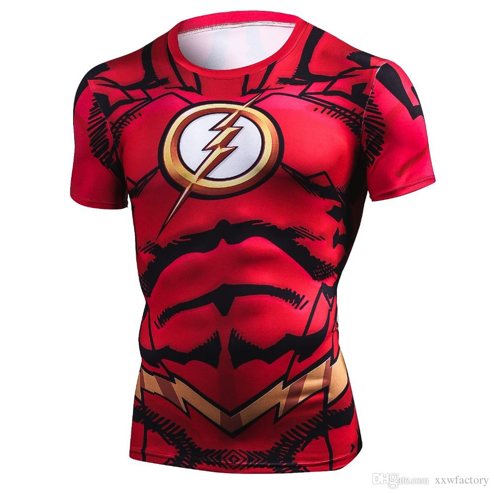 New Summer 3D Iron Spiderman T Shirt Men Marvel Avengers Men T-Shirt Compression Crossfit Short Sleeve Brand Tee Riding Shirt Tops&Tees