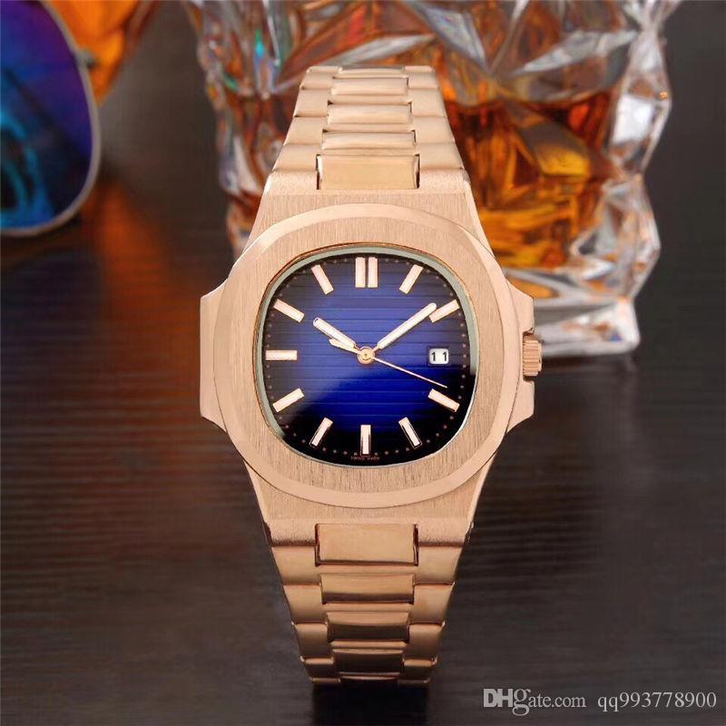 Relogio masculino relógios dos homens dos homens de luxo pulseira quadrado preto relógios de pulso Nova marca dos homens relógio de ouro dia dos namorados automático relógio mestre