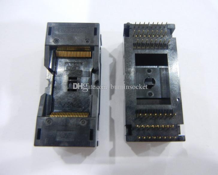 Soket Wells-CTI IC Testi Soket 648-0482211-A01H TSOP48 0.5mm Pitch Yanık