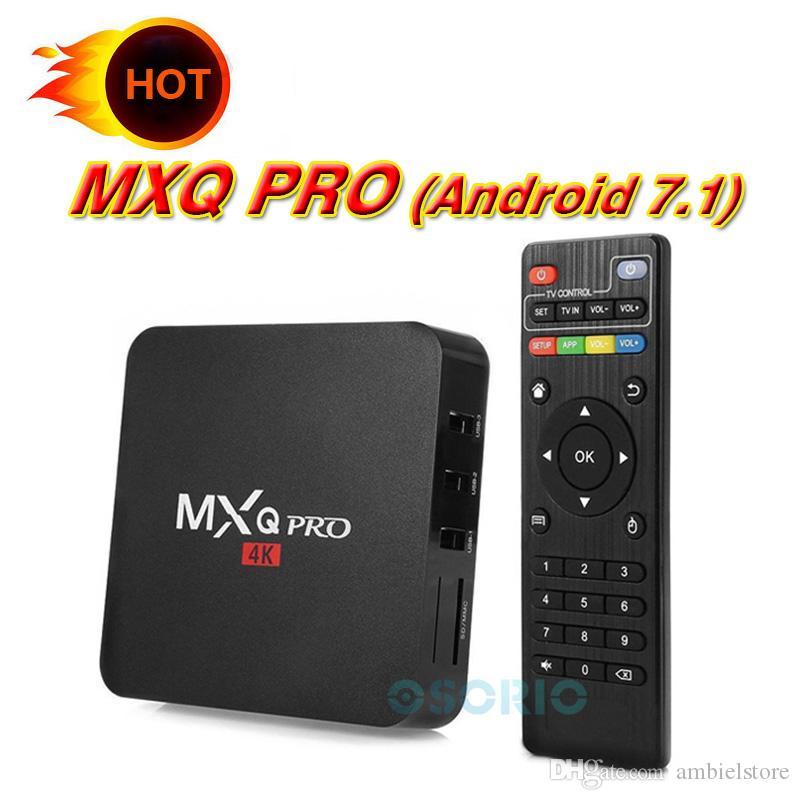 MXQ-4K RK3229 Quad Core Android 1GB 8GB 1080P WiFi Smart TV Box HDMI 4K HD