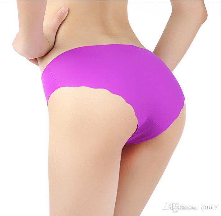Nouvelle arrivée sans couture haut coton tissu ultra-mince confort sans trace femmes sous-vêtements culottes mémoires