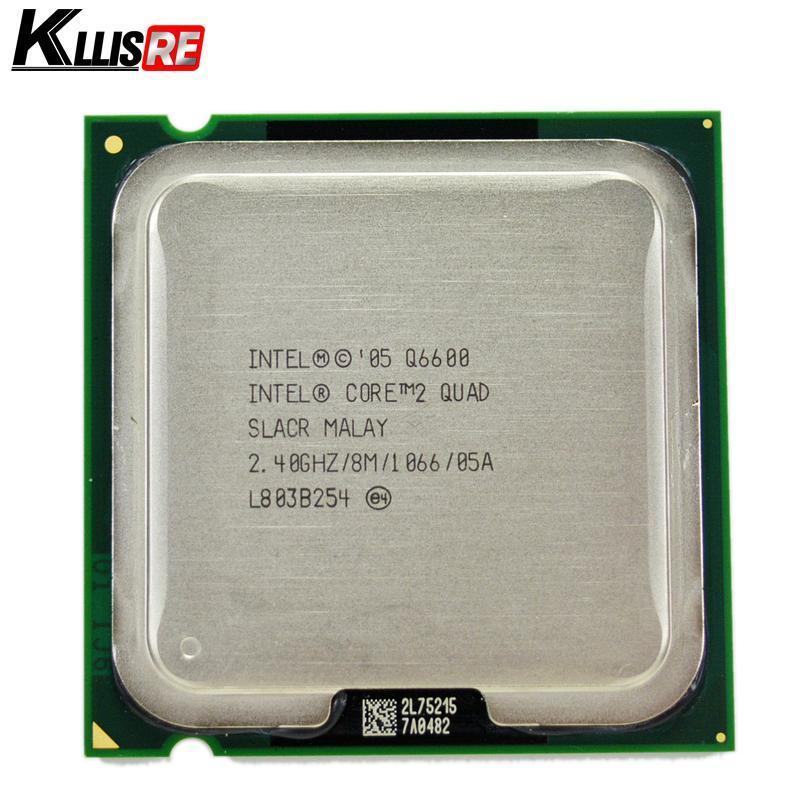 2018 Intel core 2 quad Q6600 2.4GHz Quad-Core FSB 1066 Desktop LGA 775 CPU Processor