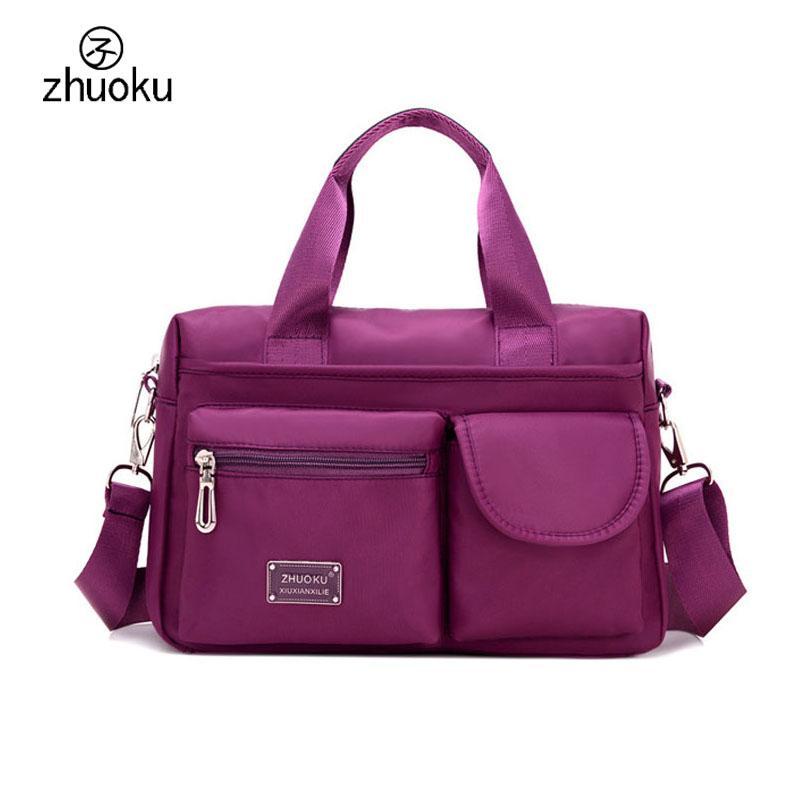 Multi-pocket ladies hand bag Large capacity handbag design shoulder bags High quality crossbody bags for women ZK1005