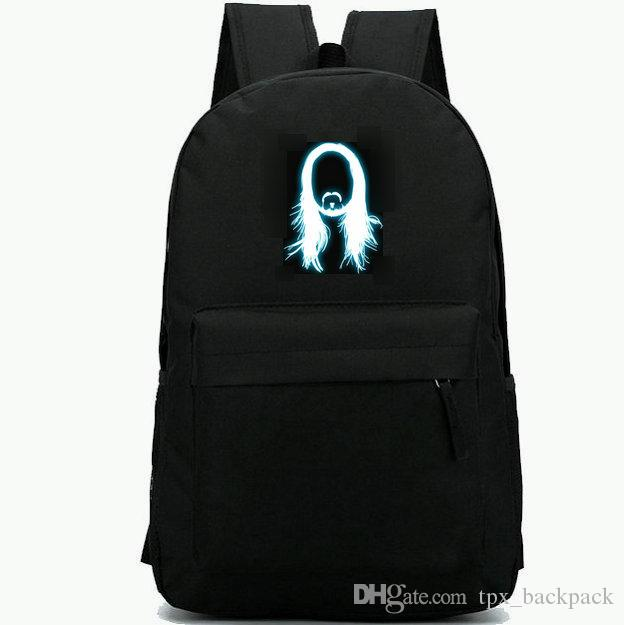 Steveaoki ظهره ستيف aoki اليوم حزمة أعلى الكهربائية dj حقيبة مدرسية بارد packsack الترفيه الظهر الرياضة المدرسية daypack حقيبة
