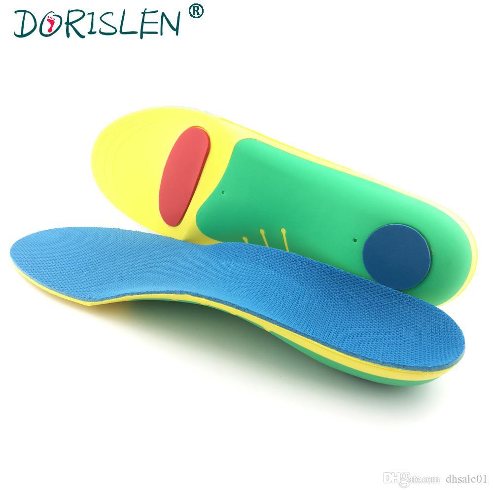 EVA Shoe Insoles Orthopedic Arch Soporta alivio del dolor Cuidado de los pies Hombres Mujeres