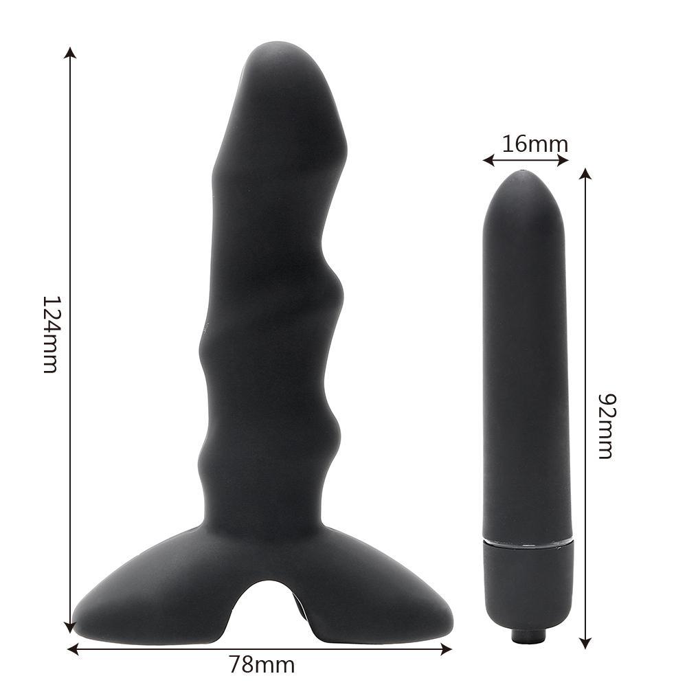 Spot vibrador bumbum plugue sexo anal para próstata produto masturbação brinquedos plug adulto loja g ikoky estimular sexo homens massager mulheres s1018 tuao