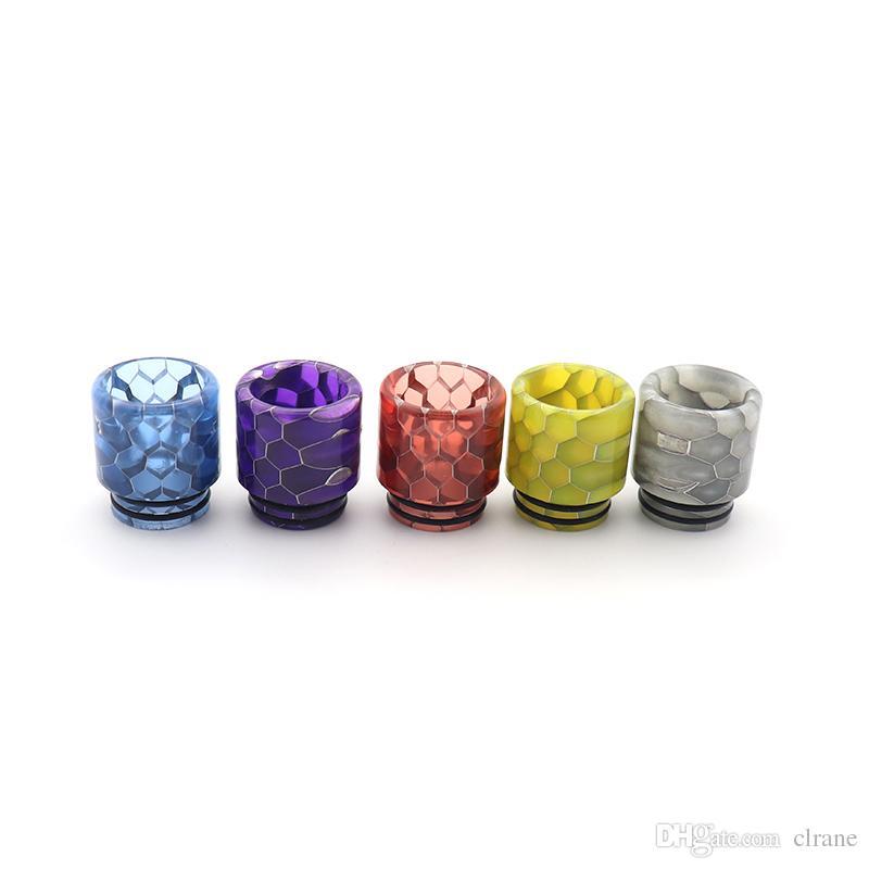 Drip Tip 810 in resina per Kennedy 24 / Goon 528 / Mad Dog / Kensei 24 / Kylin RTA / Triple 28 RTA / blitzen RTA / Faraone Mini / AMMIT 25 Atomizzatore