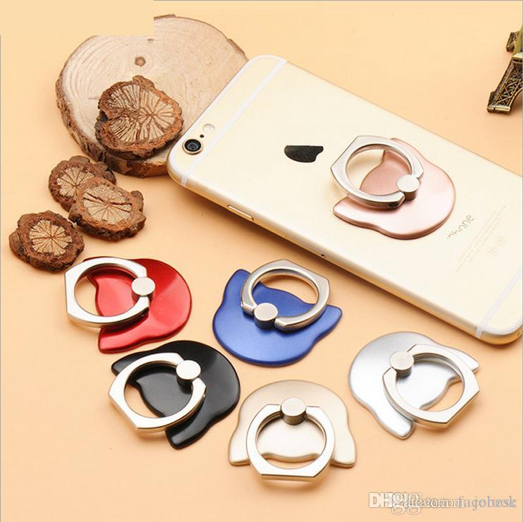 Hot new cat mobile phone ring Korea cute cat head creative lazy ring buckle gift customization
