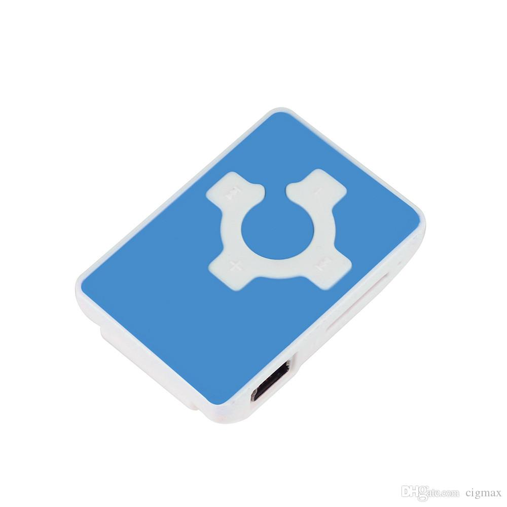 Clip USB Mini Mp3 Music Media Player Support 32GB Micro SD TF Card Headset