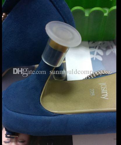 Scarpe da donna tacco alto protettore Tappi da ballo scarpe da ballo protezione tacco 12mm