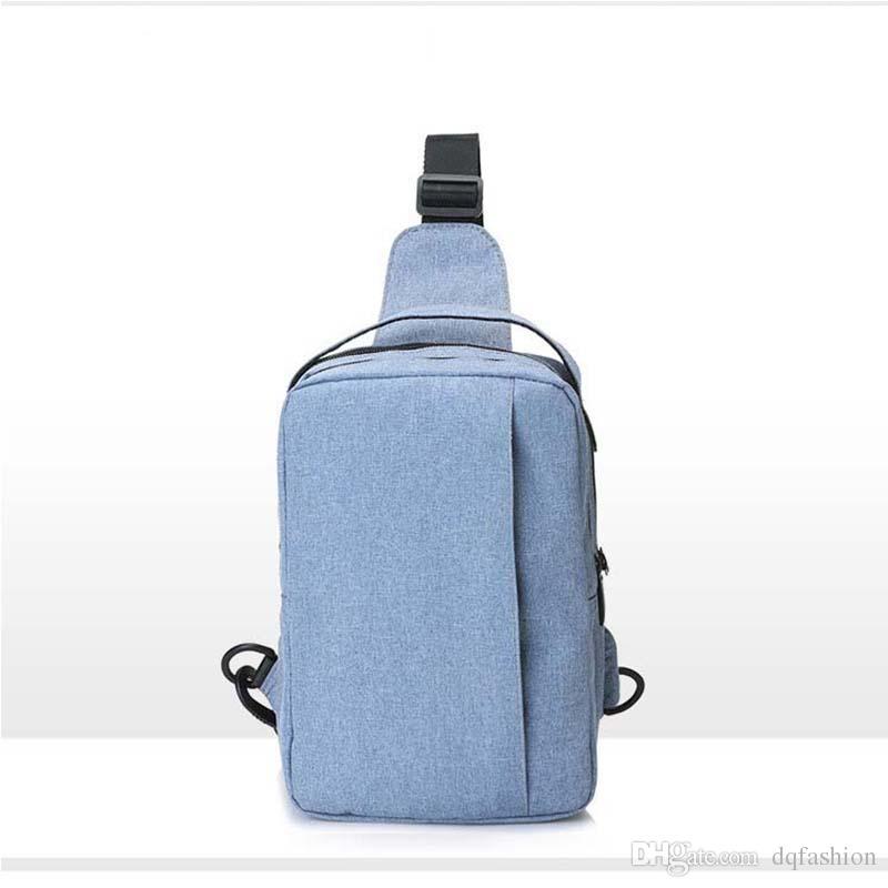 New urban casual man bag business simple shoulder bag fashion FAN nylon chest bag Free shipping