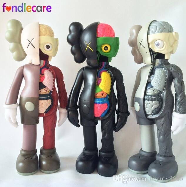 Dissected Companion Action Figures Kids Original Fake Toys 37cm 16inch KAWS