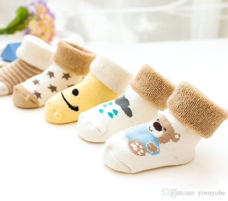 Baby Toddler Funky Socks Bear