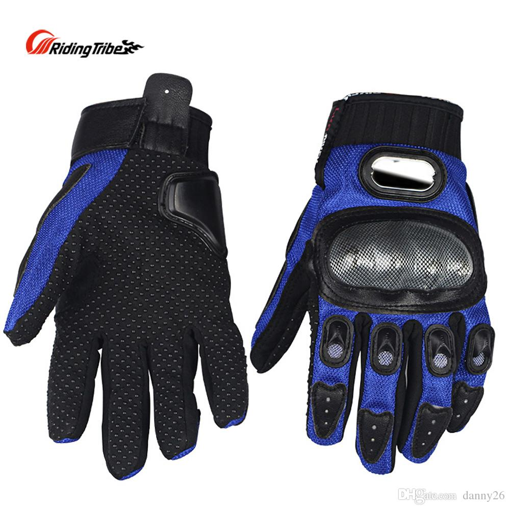 Motorbike Pro-biker gloves Motorcycle Racing Cycling Full Finger Gloves driving gloves MCS-01A