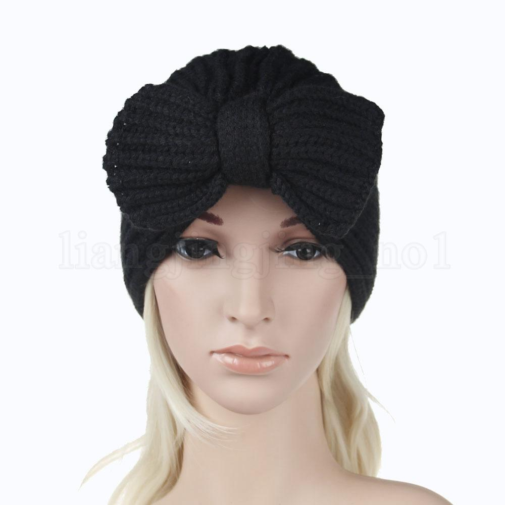 72119c9e4cc 5styles Women Earmuffs Knitted Bowknot Hat Lady Hats Crochets Knitting  Beanie Hats Outdoor Sports Party Skull Caps Ffa754 Beach Hats Beanie Hats  For Men ...
