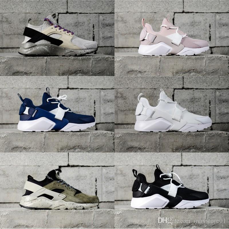 2018 Yeni Tasarım hava Huarache 5 IV Kadınlar Erkekler Için Koşu Ayakkabıları Hafif Huaraches 4 Sneakers Atletik Spor Açık Ayakkabı 36-44