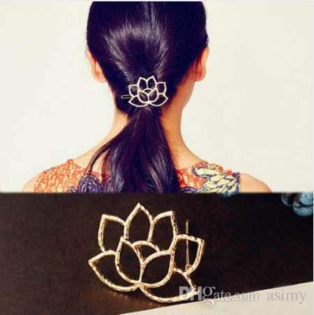 Accessoire de coiffure pour femme Accessoire de coiffure Lotus Retro