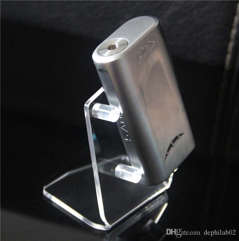 Caixa Ecig Box Mod Exibição de Bateria Show Acrílico Show Capa Para Vape Cig Kits prateleiras de prateleiras Ego One Aio Istick E Showcase de Cigarro Boa Qualidade