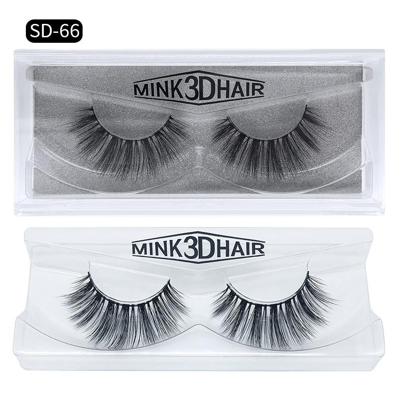 Natural Long 3D Mink Hair Fake Eyelashes Real Tick Mink Hair False Lashes makeup accessories for Eyes 16 styles DHL Free YL003