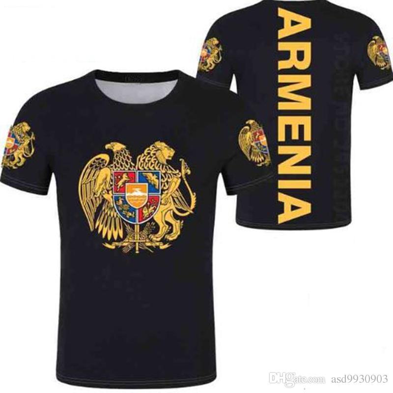 nome di stampa e NR Incl Armenia WM 2018 T-SHIRT MAGLIA look CALCIO