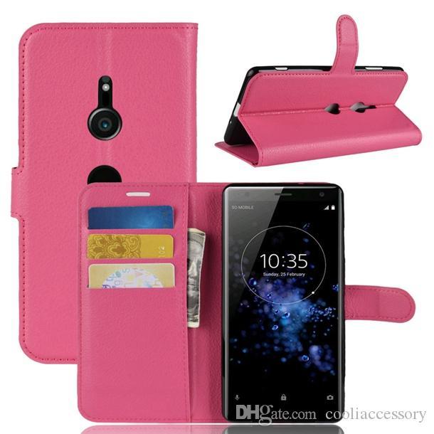 Личи бумажник кожаный чехол для Sony Xperia XZ3 OPPO F9 Find X2 Reno 3 Pro Realme C3 флип пиявка стенд ID держатель карты денежный чехол роскошь