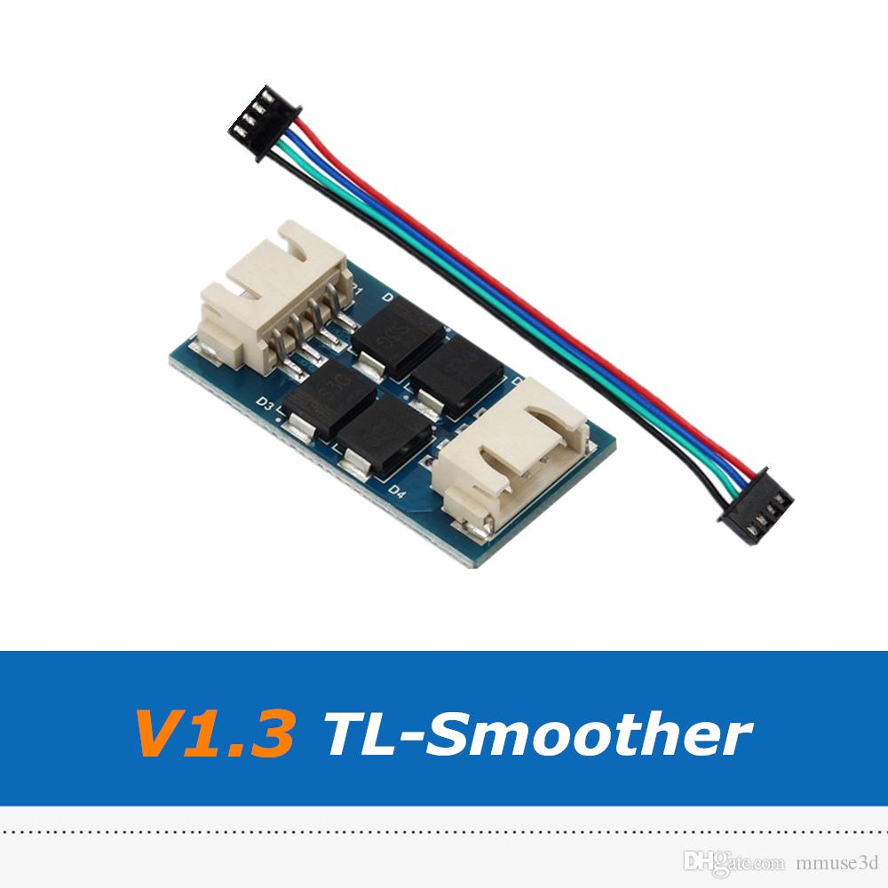 4pcs / lot TL-Smoother V1.3 Addon 모듈, 3D 프린터 부품 재 포장 UM 3D 프린터 용 TL-Smoother 진동 제거기