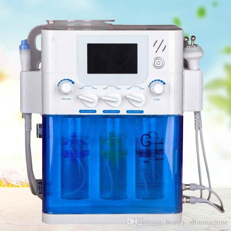 Plus récent 4in1 HydraFacial microdermabrasion Bio-lifting Spa machine visage Aqua nettoyage du visage Hydro Peel Water Machine Peeling dermabrasion