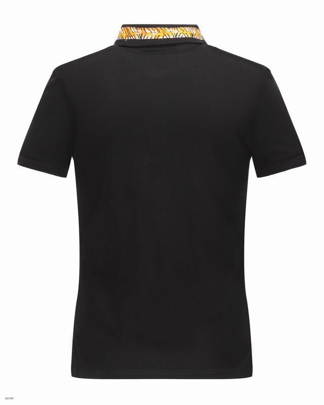 Nouveau Printemps Italie Tee T-Shirt Designer Polo Shirts High Street Broderie Grande Vente Serpents Jarretières Petite Abeille Impression Mens Marque Polo Shirt