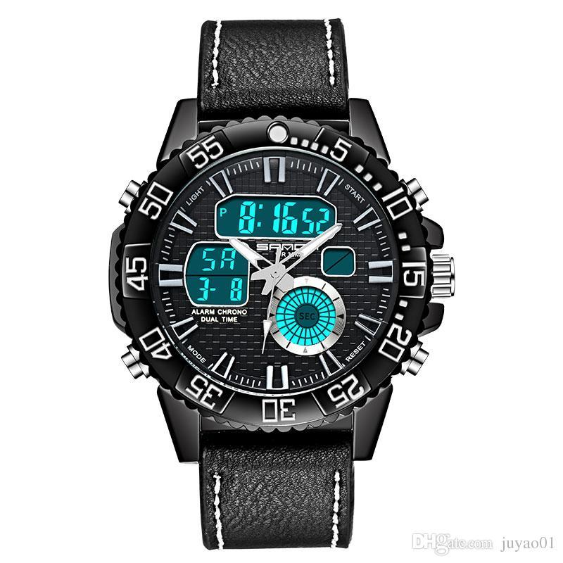 New Teen Classic Watch Male High School Students Junior High School Waterproof Belt Sports Wild Watch Tide Male Electronic Watch