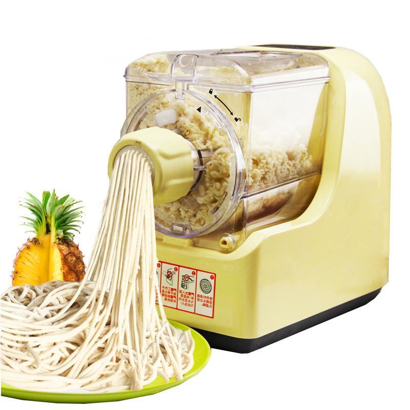 Qihang_top ménage nouilles électriques faisant machine de pressage fabricant de pâtes complètement automatique coupe nouilles malaxer pétrisseur