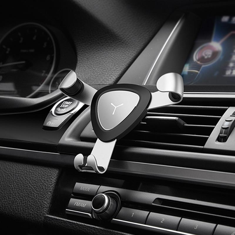 Автомобильный держатель телефона для iPhone X Автомобильный держатель с вентиляционным отверстием 360 Регулируемый автомобильный держатель телефона Стенд мобильного телефона для Xiaomi Redmi