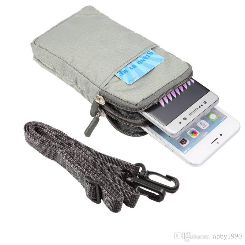 Clipe Cinto de Multi-Função Universal Esporte Bag Bolsa Case para Panasonic Eluga Ray Max / Puro / Mark 2 / Nota / I3 / Switch