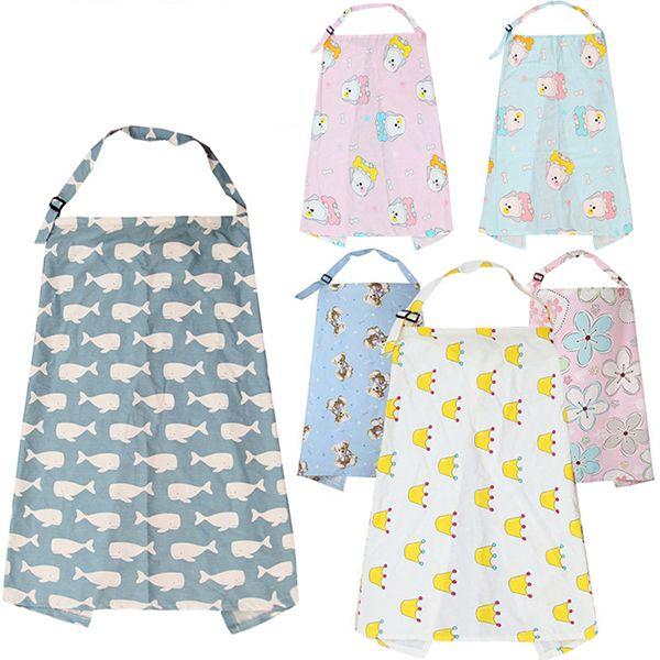 Respirável Mãe Amamentação Cobre Bebê Abrange Bebê Mamãe Xale Ao Ar Livre Tampas de Alimentação Multi-uso Aventais Roupas de Alimentação Do Bebê