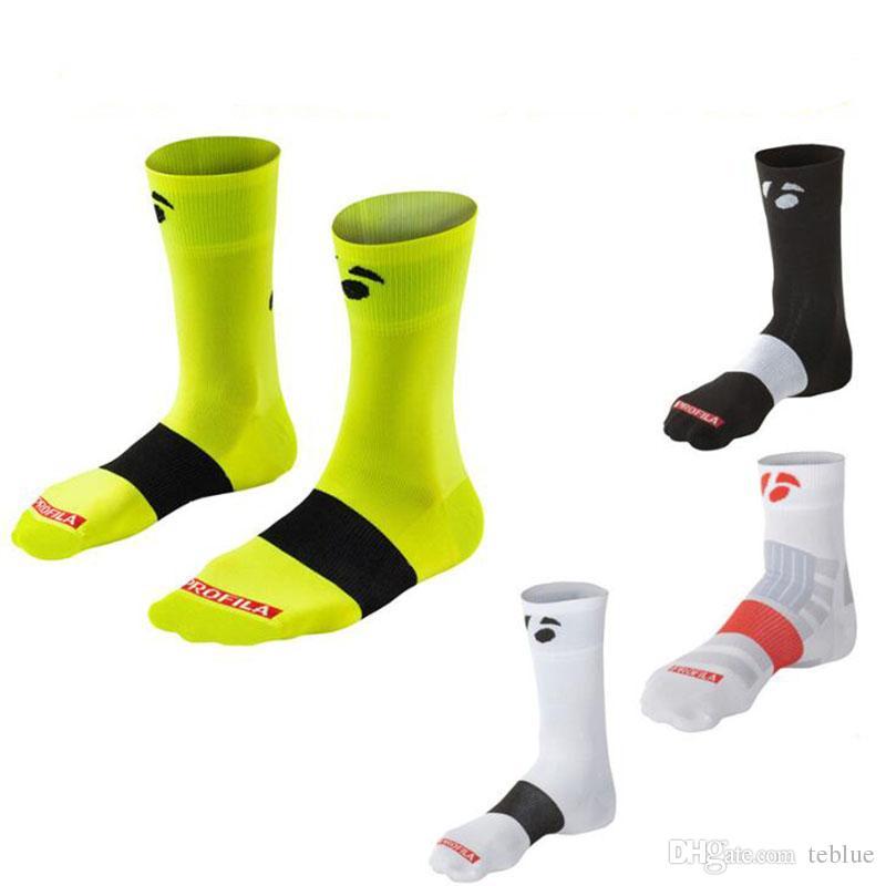 Hot Sale Breathable Men's Cycling Socks stocking socks Coolmax Bike Running Sport socks fit for 40-46
