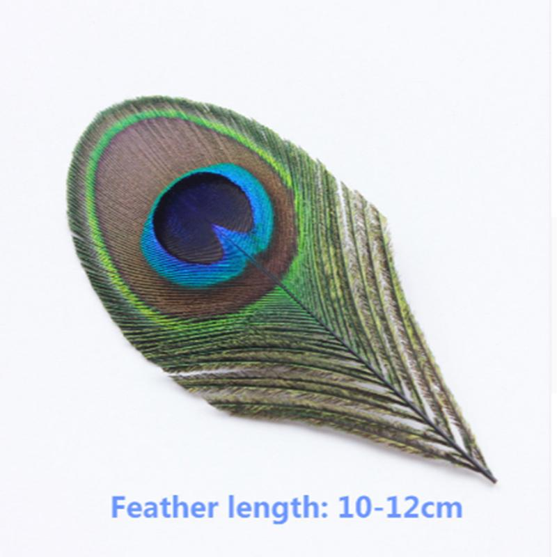 100pcs High Quality Beautiful Natural Peacock Feather Pheasant Feather S Plume Jewelry Christmas Holiday Decoration Optional