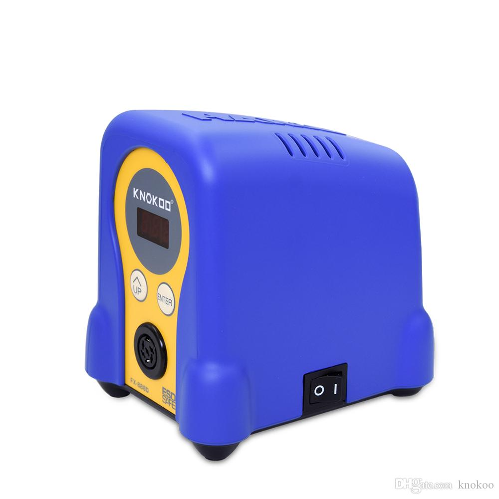 Горячие Продажа KNOKOO 70W Бессвинцово Термовоздушная паяльная станция для пайки FX888D с паяльником