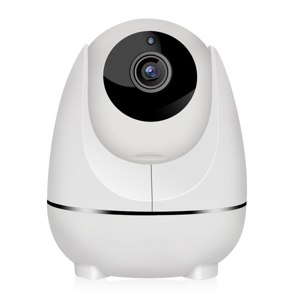 Smart Wireless Video Baby Nanny Monitor 1080p WiFi 2 Way Smart PT Caméra Pt avec une caméra IP de sécurité de détection de mouvement